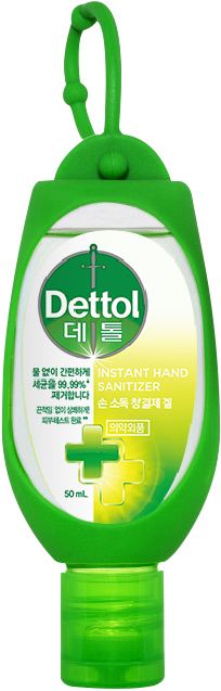 데톨 손 소독 청결제 겔